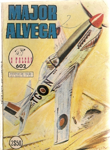 Capa de: MAJOR ALVEGA - 27 . SOBRE BURMA