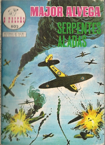 Capa de: MAJOR ALVEGA - 29 . SERPENTES ALADAS