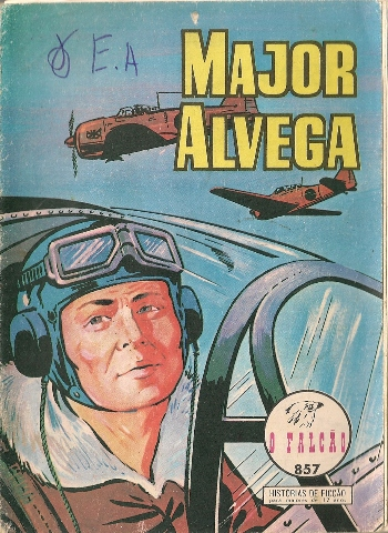 Capa de: MAJOR ALVEGA - 35 . VALE DA MORTE (O)