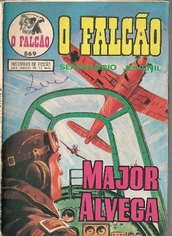 MAJOR ALVEGA - 37 . AVIÃO ASSASSINO (O)