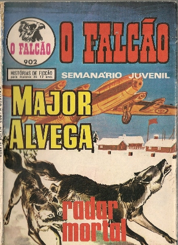 Capa de: MAJOR ALVEGA - 40 . RADAR MORTAL