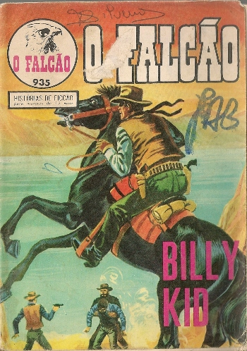 BILLY THE KID - 6 . GRANDE CAÇADA (A)