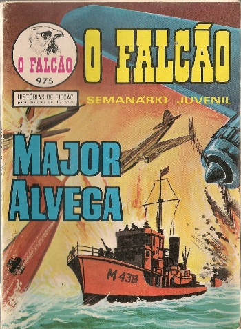 Capa de: MAJOR ALVEGA - 48 . GOLIAS (O)