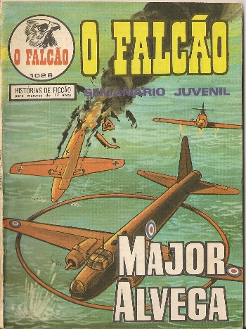 Capa de: MAJOR ALVEGA - 55 . ALVO…BERLIM