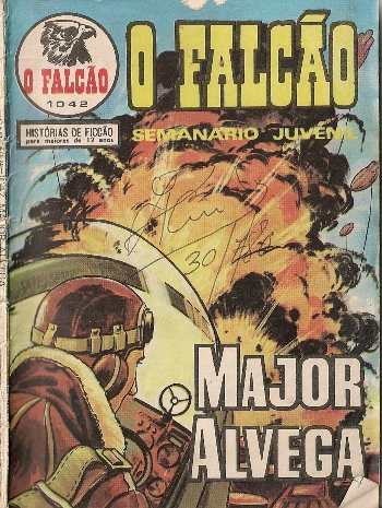 Capa de: MAJOR ALVEGA - 59 . NO DESERTO