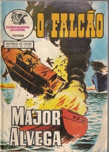 Capa de: MAJOR ALVEGA - 61 . NAVIO FANTASMA (O)(*)