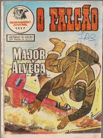 MAJOR ALVEGA - 67 . FALCÕES DO DESERTO