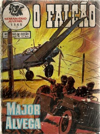 MAJOR ALVEGA - 72 . RISCOS DE GUERRA