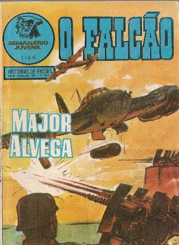 MAJOR ALVEGA - 76 . DUELO EM MALTA