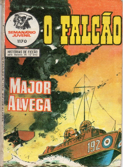 Capa de: MAJOR ALVEGA - 77 . P.M.I. (A)