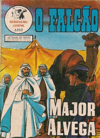 Capa de: MAJOR ALVEGA - 80 . RATOEIRA (A)