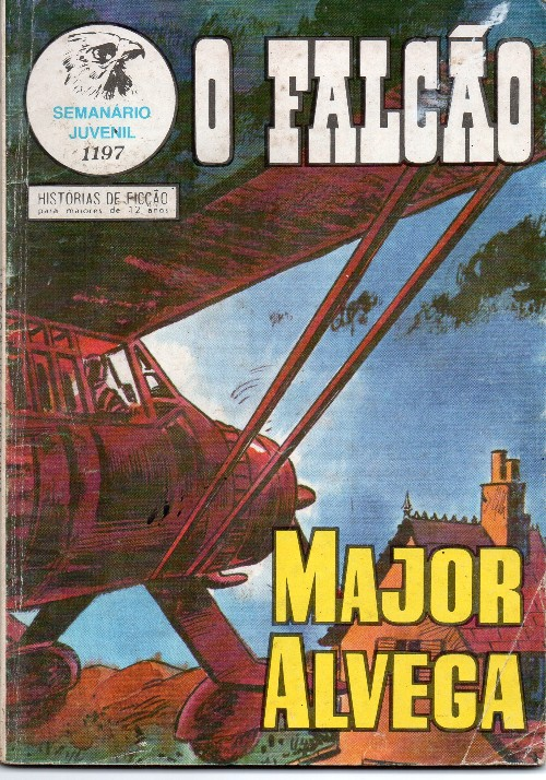 Capa de: MAJOR ALVEGA - 81 . BRINCANDO COM A MORTE