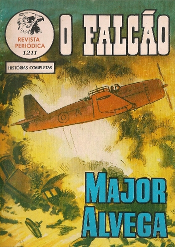 Capa de: MAJOR ALVEGA - 83 . INFERNO DE CRETA (O)