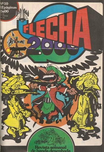 IZNOGOUD - FLECHA 2000 . N.º 10