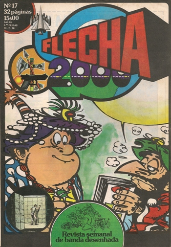 IZNOGOUD - FLECHA 2000 . N.º 17