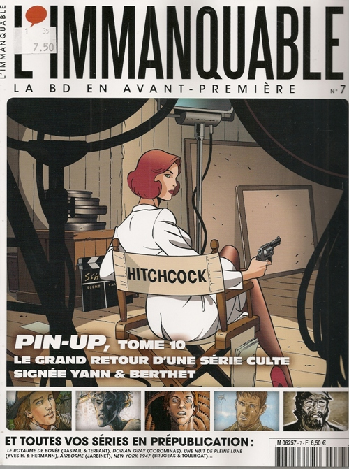 PIN-UP - 10 . DOSSIER ALFRED H. (LE)
