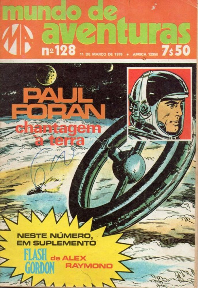 PAUL FORAN - 1 . CHANTAGEM À TERRA