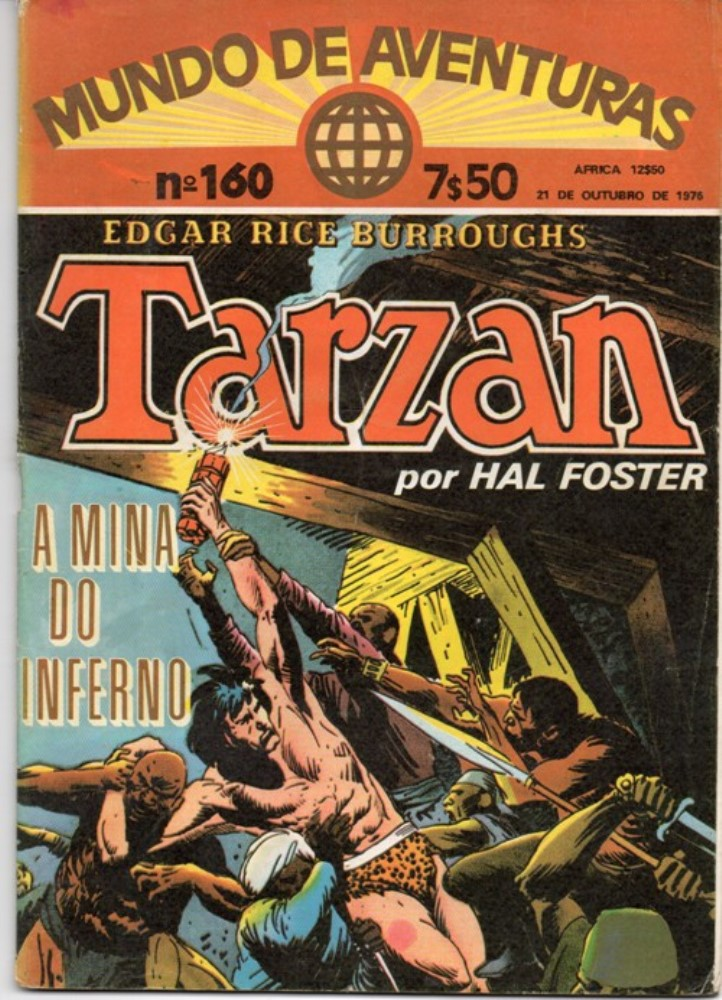 TARZAN - 8 . MINA DO INFERNO (A)