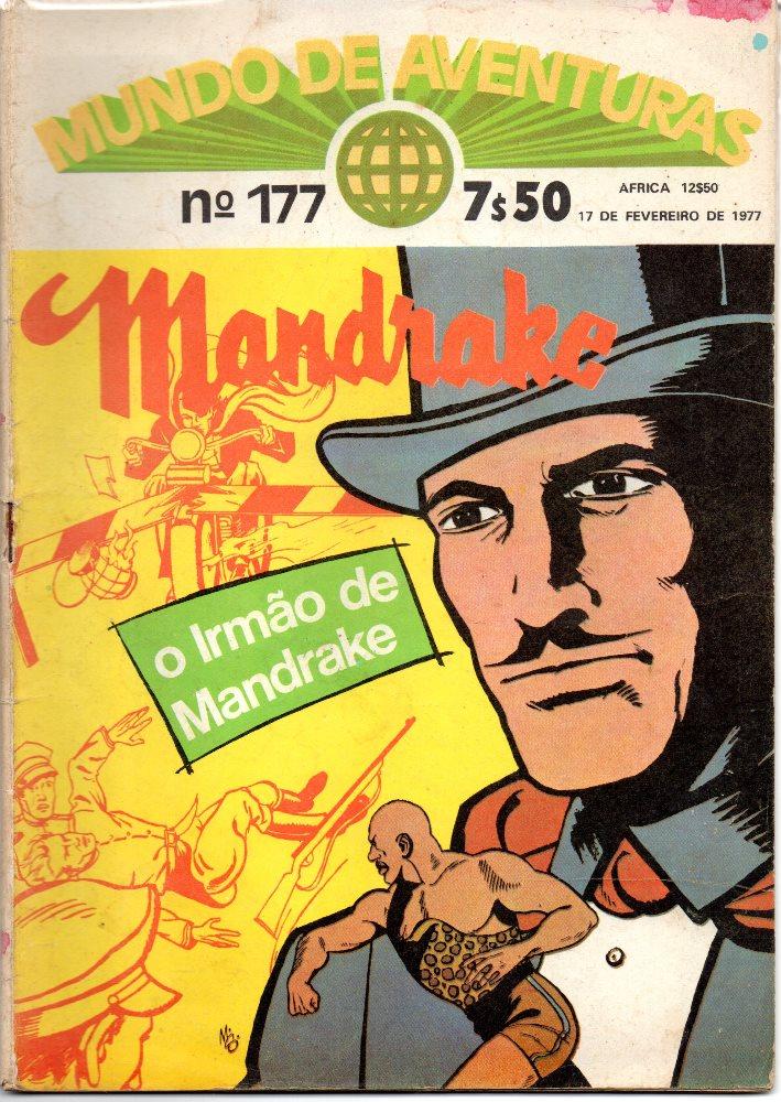MANDRAKE - 25 . IRMÃO DE MANDRAKE (O)