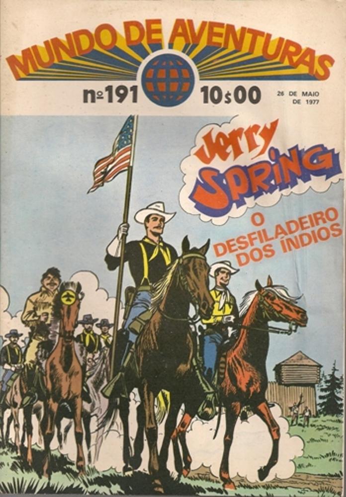 JERRY SPRING - 5 . PASSAGEM DOS ÍNDIOS (A)