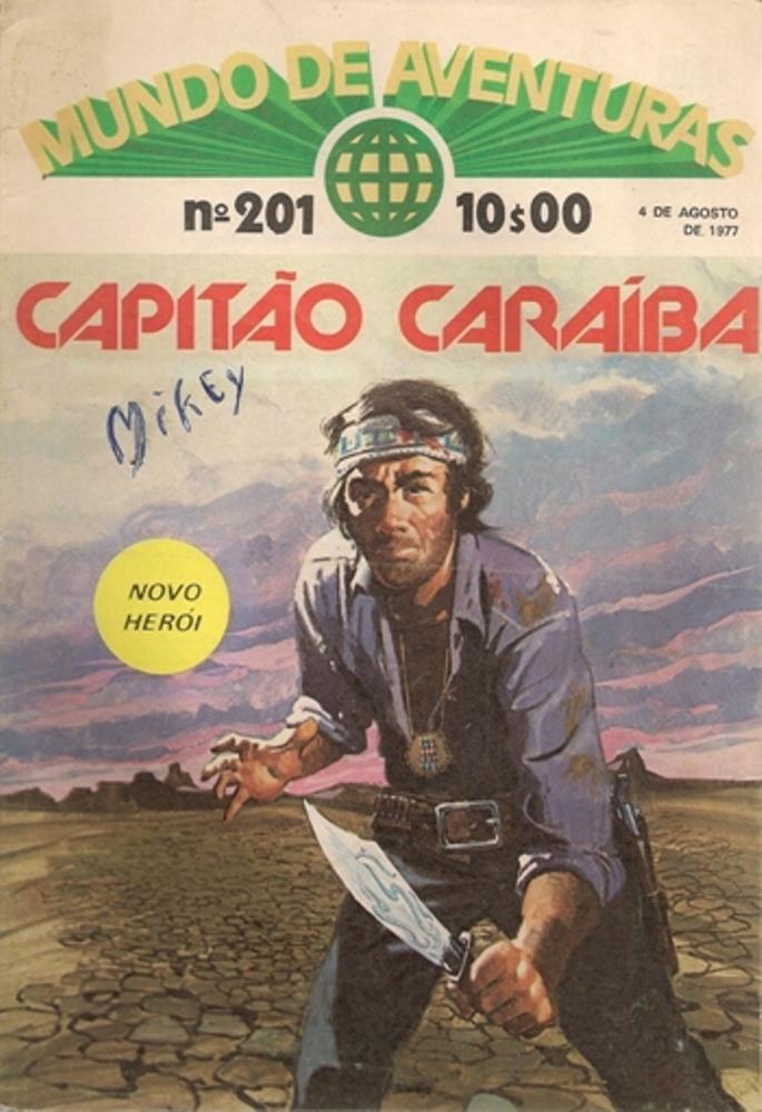 CAPITÃO CARAÍBA - 1 . CAPITÃO CARAÍBA