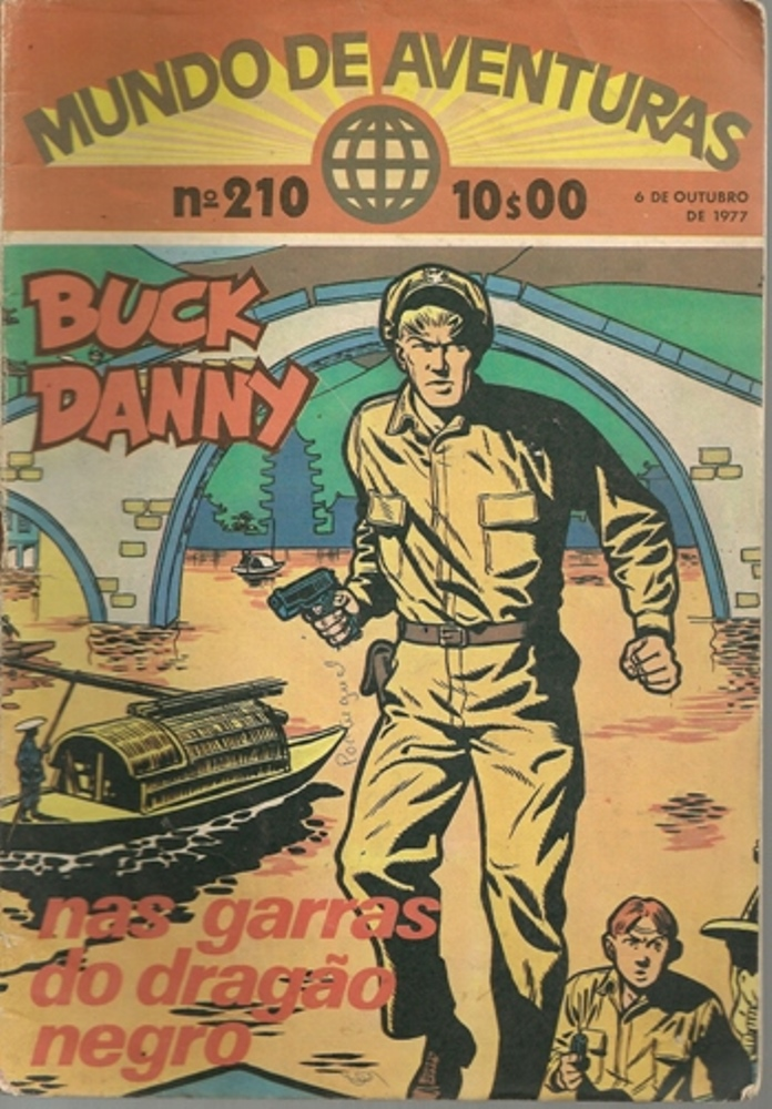 BUCK DANNY - 5 . NAS GARRAS DO DRAGÃO NEGRO