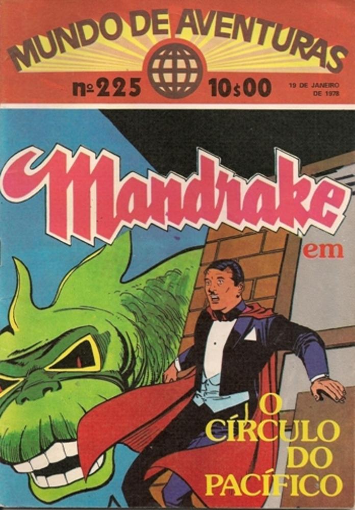 MANDRAKE - 27 . CIRCULO DO PACÍFICO (O)