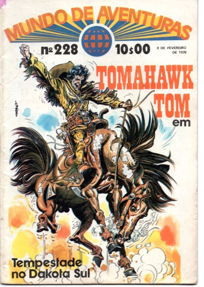TOMAHAWK TOM - 4 . TEMPESTADE NO DAKOTA SUL