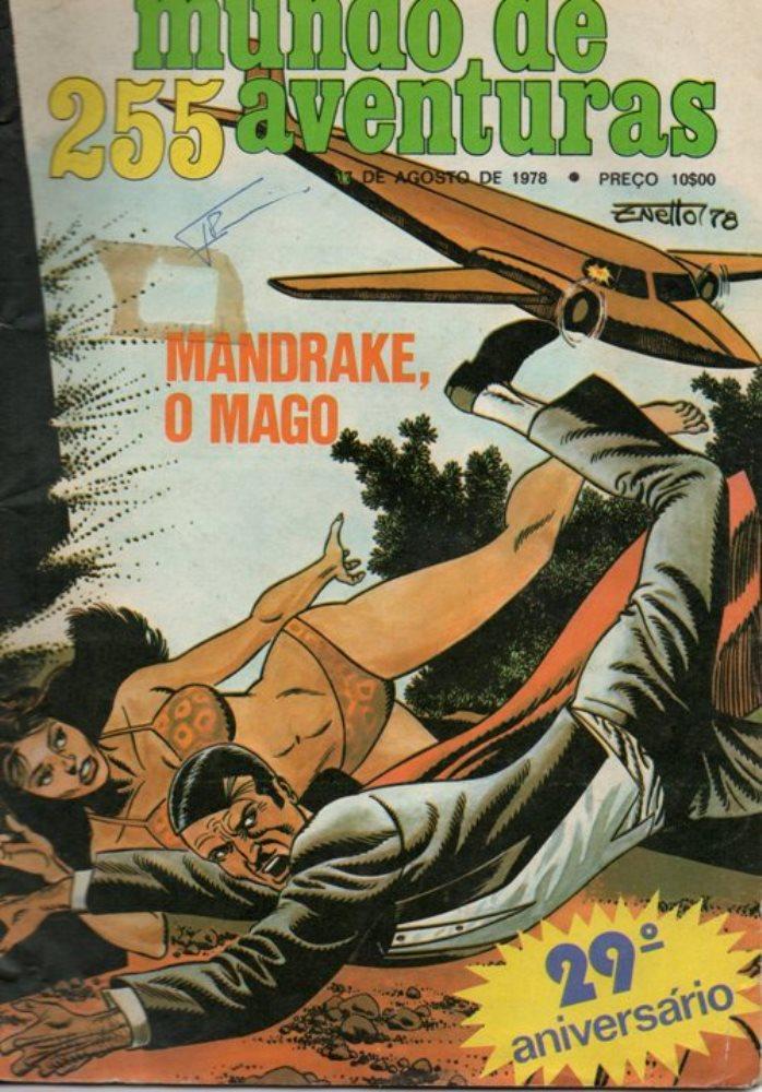 MANDRAKE - 30 . OITO VOLTA A ATACAR (O)