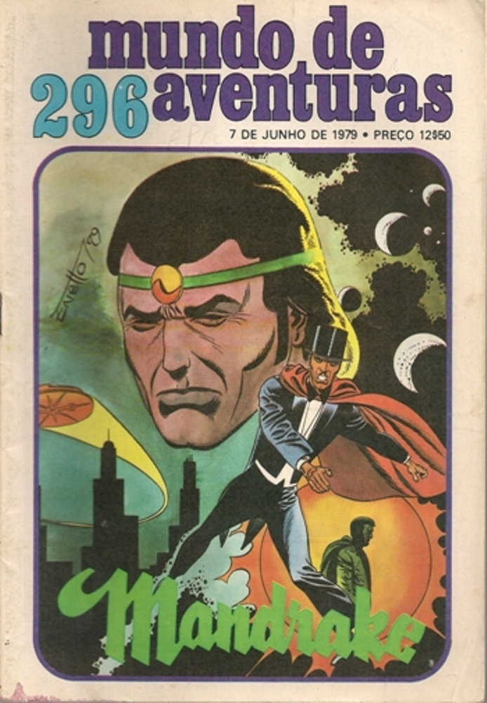MANDRAKE - 32 . IMPERADOR DO MUNDO (O)