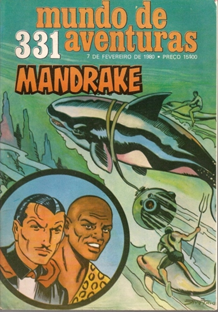 MANDRAKE - 33 . MISTÉRIO NO FUNDO DO MAR