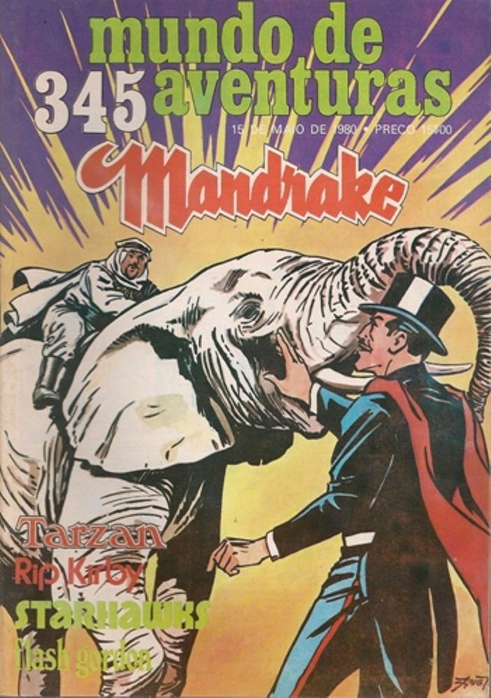 MANDRAKE - 34 . MALDIÇÃO DE MIDAS (A)