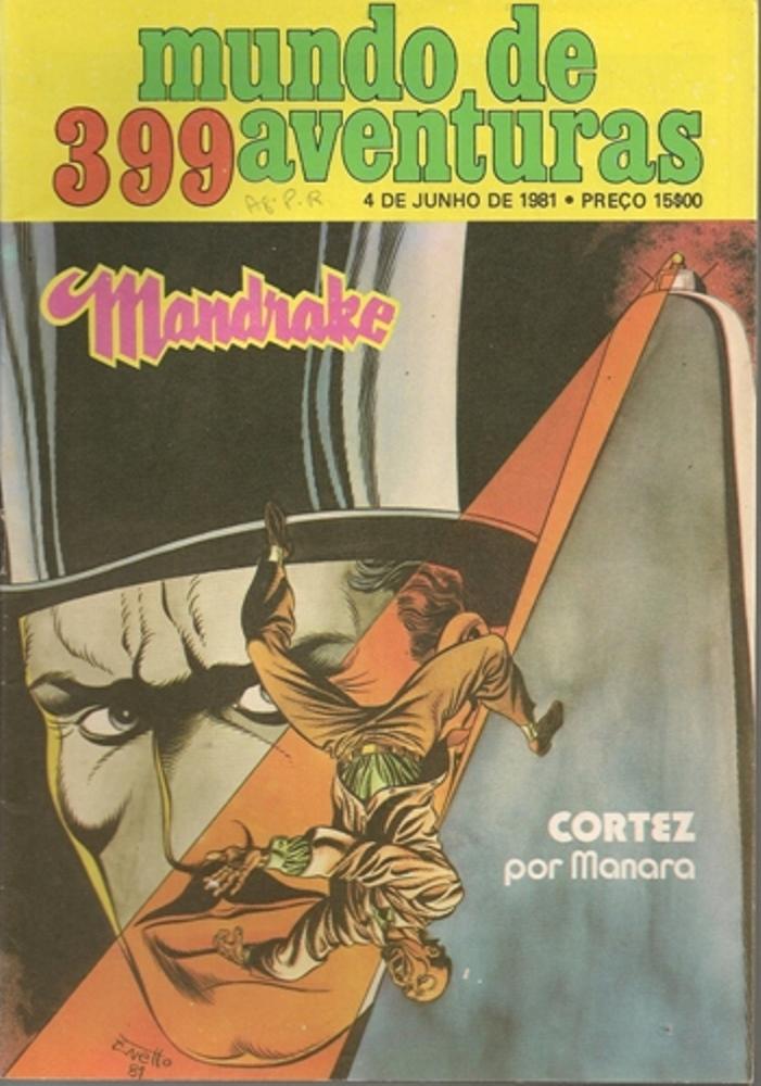 MANDRAKE - 38 . MAIORES CRIMINOSOS DO MUNDO (OS)