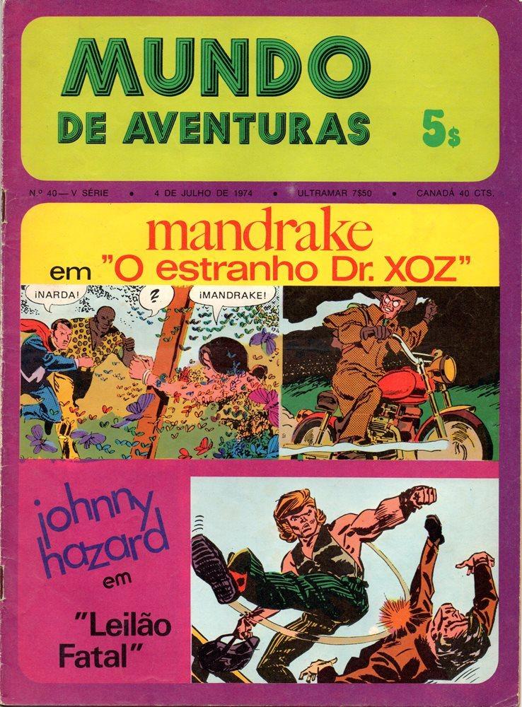 MANDRAKE - 23 . ESTRANHO DR. XOZ