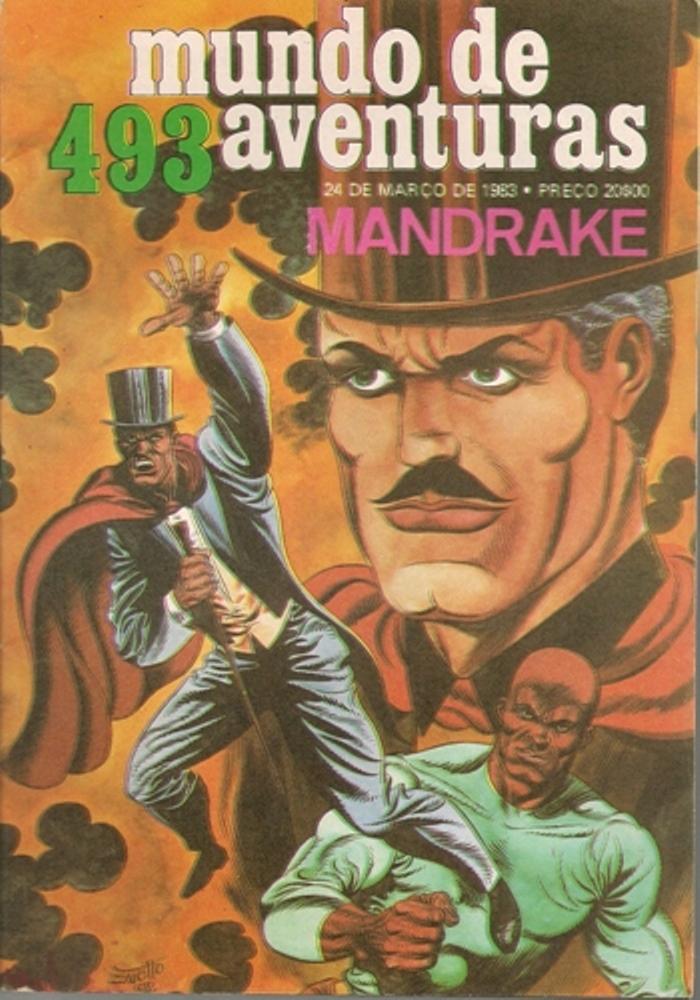 MANDRAKE - 42 . CIRCULO INIMIGO DE MANDRAKE (O)