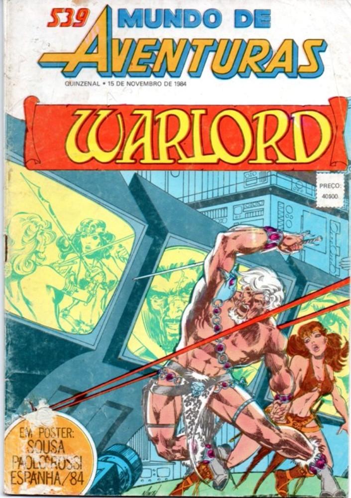WARLORD - 16 . HOLOCAUSTO