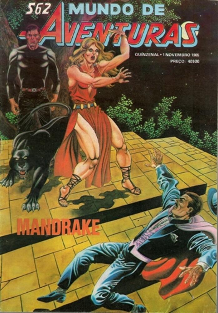 MANDRAKE - 44 . MANDRAKE VI