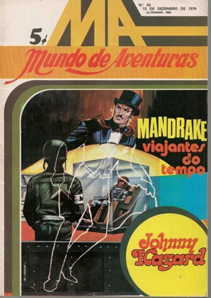 MANDRAKE - 7 . VIAJANTES DO TEMPO