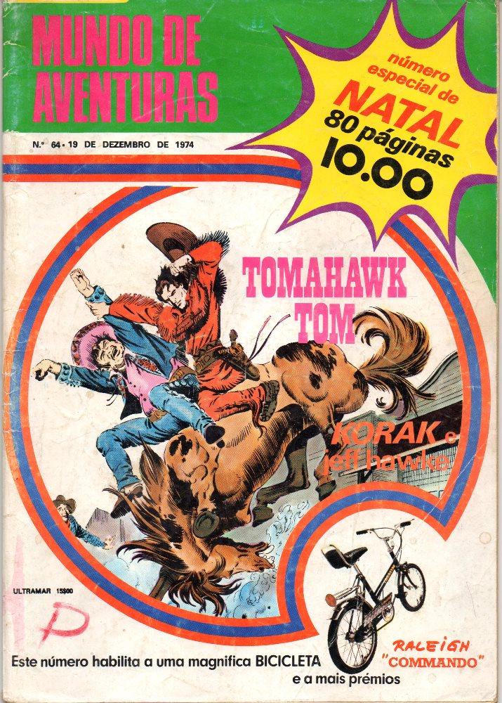 TOMAHAWK TOM - 1 . COLT CITY CIDADE SEM LEI