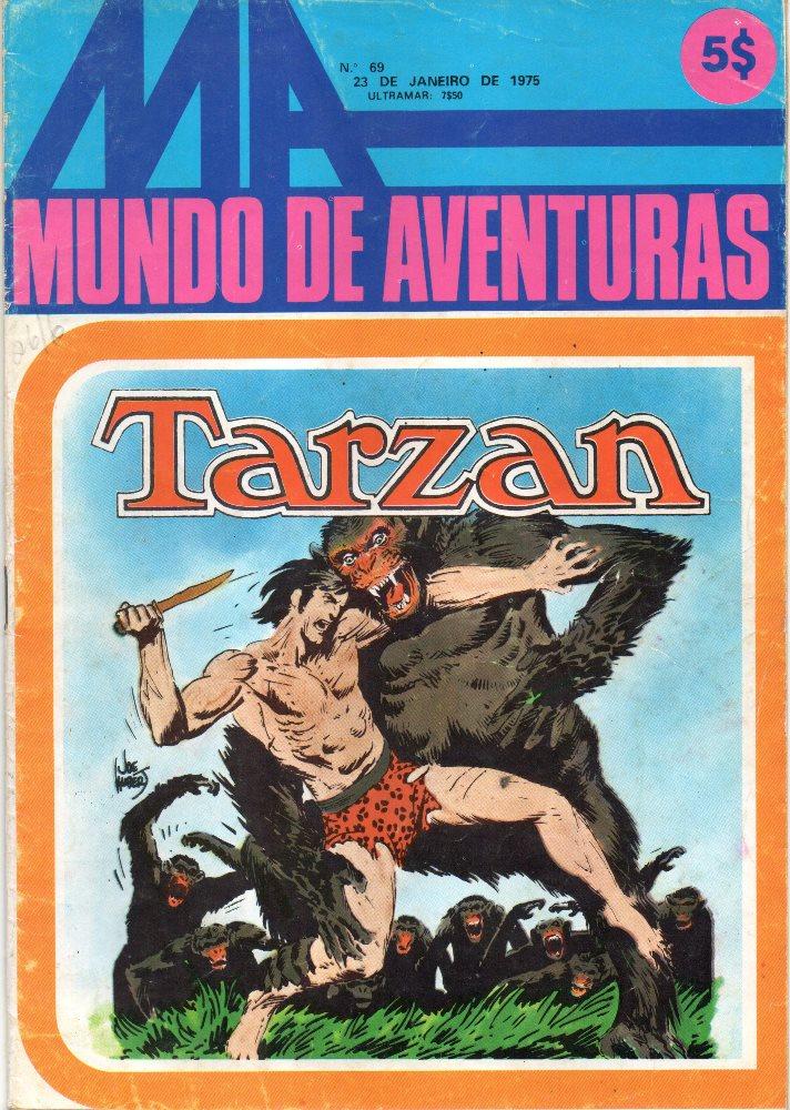 TARZAN - 3 . ORIGEM DO HOMEM-MACACO