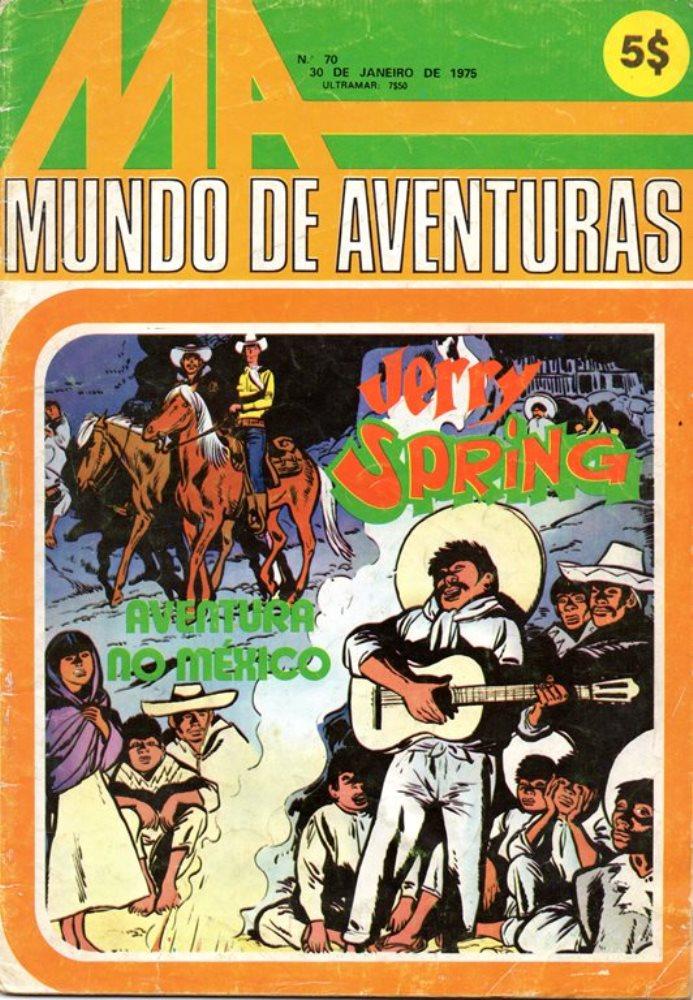 JERRY SPRING - 12 . AVENTURA NO MÉXICO (UMA)
