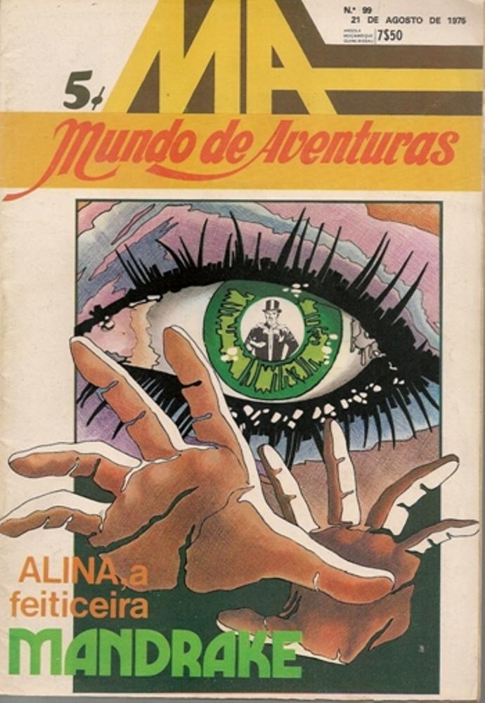 MANDRAKE - 9 . ALINA A FEITICEIRA