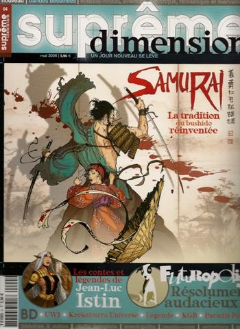 SAMURAI - 2 . SEPT SOURCES D'AKANOBU
