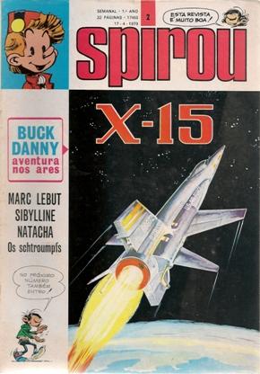 BUCK DANNY - 31 . X-15