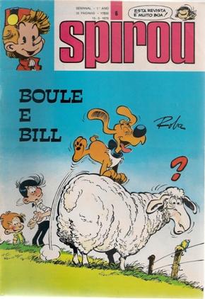 BOULE E BILL - SPIROU 2ª SÉRIE . N.º 6