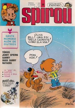 BOULE E BILL - SPIROU 2ª SÉRIE . N.º 20