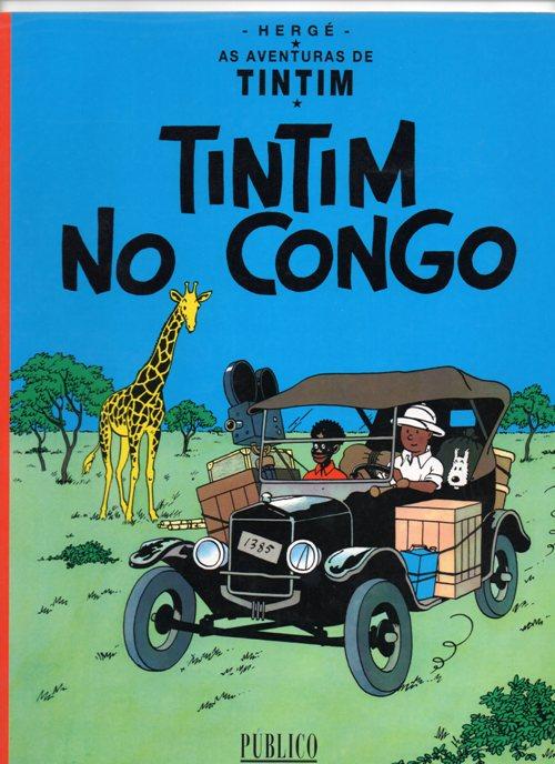 TINTIN - 2 . TINTIN NO CONGO