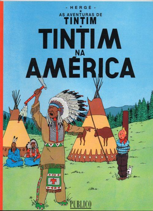 TINTIN - 3 . TINTIN NA AMÉRICA