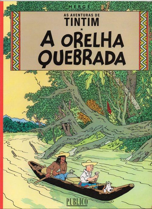 TINTIN - 6 . ORELHA QUEBRADA (A)