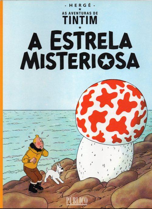 TINTIN - 10 . ESTRELA MISTERIOSA (A)